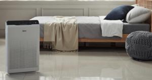 õhupuhastaja magamistuppa