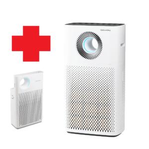 Allergiavastane õhupuhastaja Coway Storm + Coway Classik pakkumine