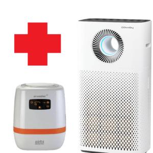 Allergiavastane õhupuhastaja Coway Storm + Airbi Airwasher