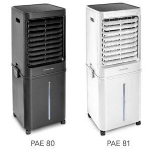 Võimas niisuti /õhujahuti PAE 81/80kuni 80 m2 (kuni 2,8 l/h)