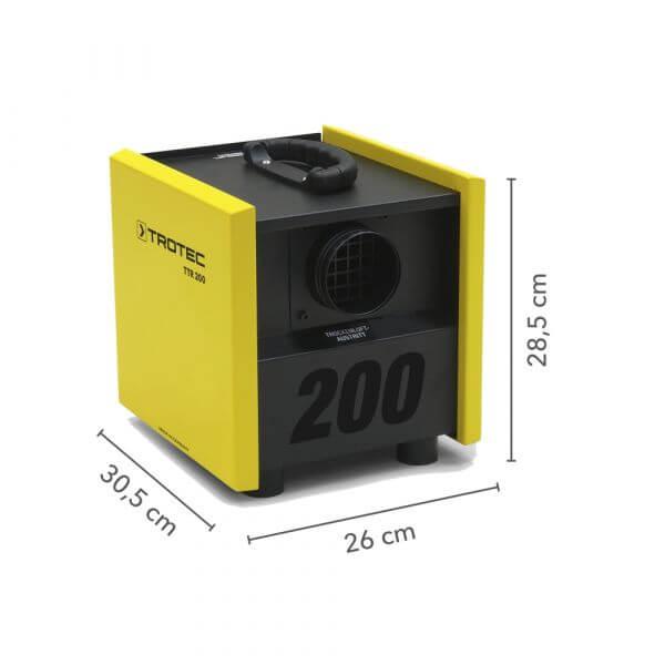 adsorptsiooni kuivati trotec TTR 200