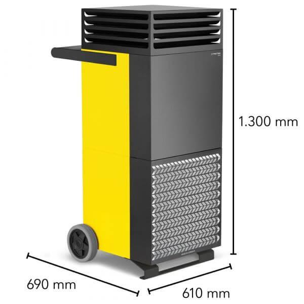 sertifitseeritud õhupuhastaja