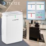 Mugav õhukuivati TTK 72 E elu- ja kontoripindade usaldusväärne kuivana hoidmine!